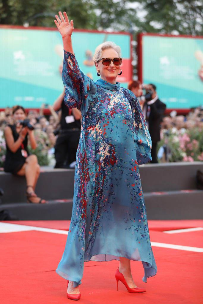 Meryl Streep in Givenchy Haute Couture (2019)