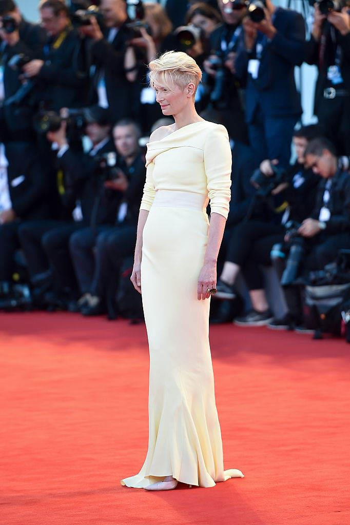 Tilda Swinton in Haider Ackermann (2015)