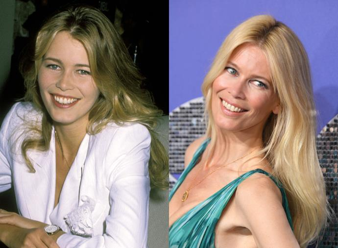 """**Claudia Schiffer**<br><br>  Famously discovered in a German nightclub at just 17, Claudia Schiffer, like a number of [models who almost had different careers](https://www.harpersbazaar.com.au/fashion/models-different-jobs-20315