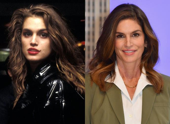 """**Cindy Crawford**<br><br>  While Cindy Crawford's famous beauty mark was originally perceived as a flaw (which she [says](https://www.foxnews.com/entertainment/cindy-crawford-hated-beauty-mark