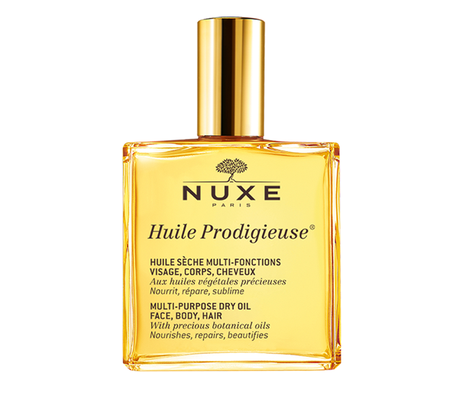 """**Huile Prodigieuse Multi-Purpose Dry Oil by Nuxe Paris, $42.99 at [Adore Beauty](https://www.adorebeauty.com.au/nuxe/nuxe-huile-prodigieuse-multi-purpose-dry-oil-100ml.html