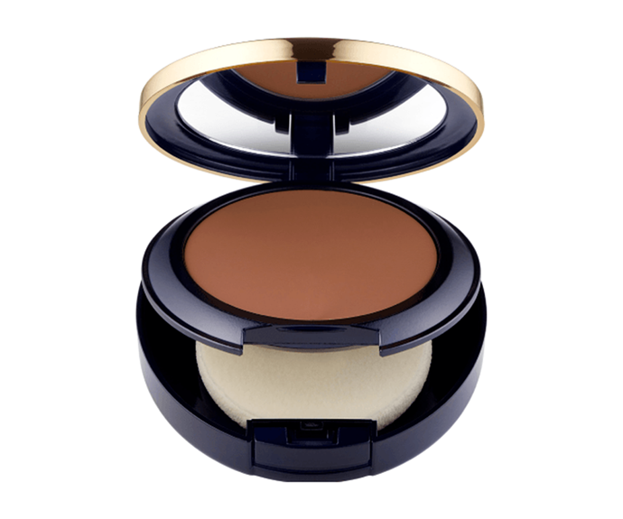 """**Double Wear Stay-in-Place Matte Powder Foundation SPF10 by Estée Lauder, $59 at [Adore Beauty](https://www.adorebeauty.com.au/estee-lauder/estee-lauder-double-wear-stay-in-place-matte-powder-foundation-spf10.html