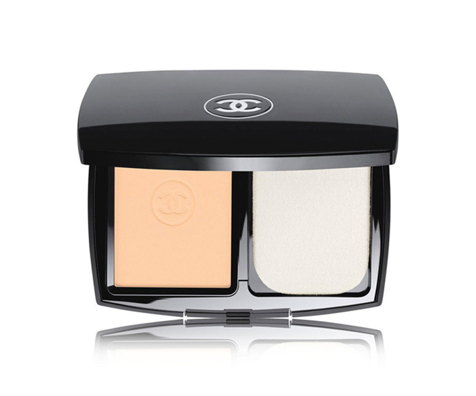 """**Le Teint Ultra Tenue Ultrawear Flawless Compact Foundation SPF 15 by Chanel, $102 at [Myer](https://www.myer.com.au/p/le-teint-ultra-tenue