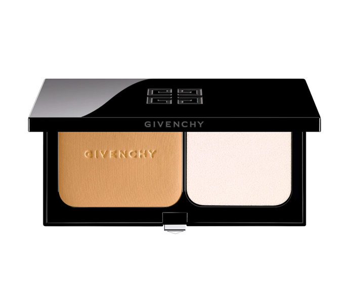 """**Matissime Velvet Compact Radiant Mat Powder Foundation SPF 20-PA+++ by Givenchy, $89 at [Sephora](https://www.sephora.com.au/products/givenchy-matissime-velvet-compact/v/6