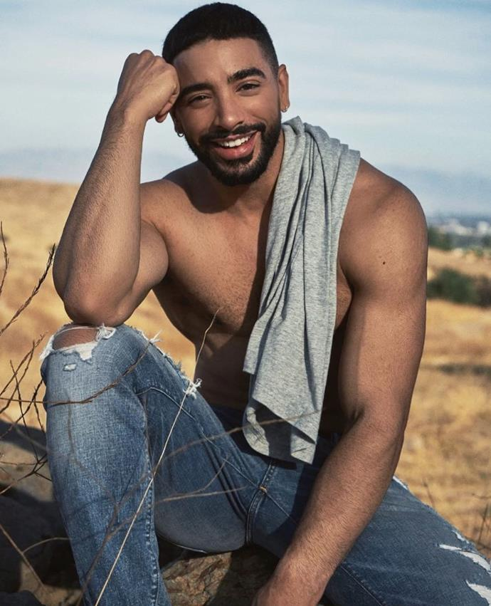 """**Laith Ashley**<br><br>  Model, singer and actor Laith Ashley kicked off his career in 2014 when photos of him taken by Nelson Castillo, modelling Calvin Klein underwear, went viral. Not long afterwards, Ashley appeared in Barney's campaign photographed by Bruce Webber, and hit the runway at New York Fashion Week. He's since appeared in campaigns for Diesel and Abercrombie & Fitch (pictured above), shot editorial for *GQ*, been featured in *Vogue Hommes*, and acted in Ryan Murphy's *Pose*.<br><br>  *Image via [@laith_ashley](https://www.instagram.com/p/B_TPb2uJ1yu/