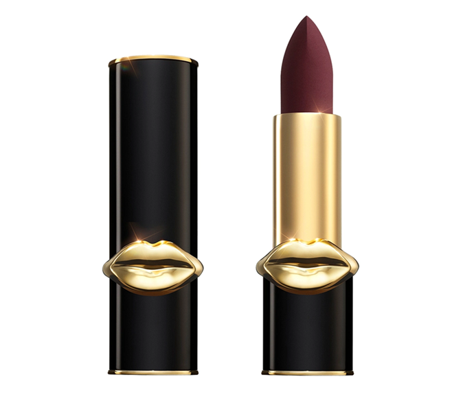 "**MatteTrance Lipstick in McMenamy by Pat McGrath Labs, $67 at [Sephora](https://www.sephora.com.au/products/pat-mcgrath-mattetrance-lipstick/v/mcmenamy|target=""_blank""