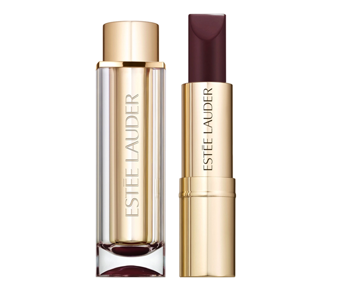 "**Pure Color Love Lipstick in Orchid Infinity, $37 at [Sephora](https://www.sephora.com.au/products/estee-lauder-pure-color-love-lipstick/v/orchid-infinity-450|target=""_blank""