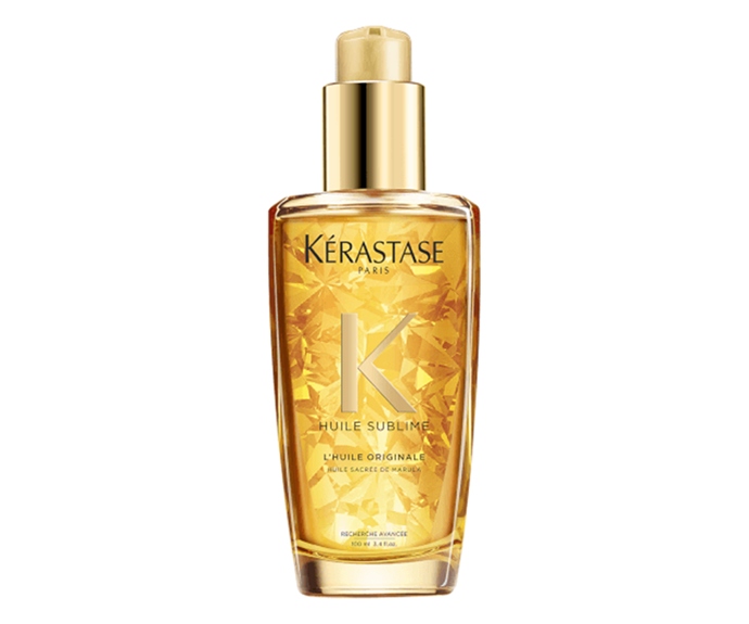 "**Elixir Ultime Beautifying Hair Oil by Kérastase, $59 at [Adore Beauty](https://www.adorebeauty.com.au/kerastase/kerastase-elixir-ultime-125ml.html|target=""_blank""
