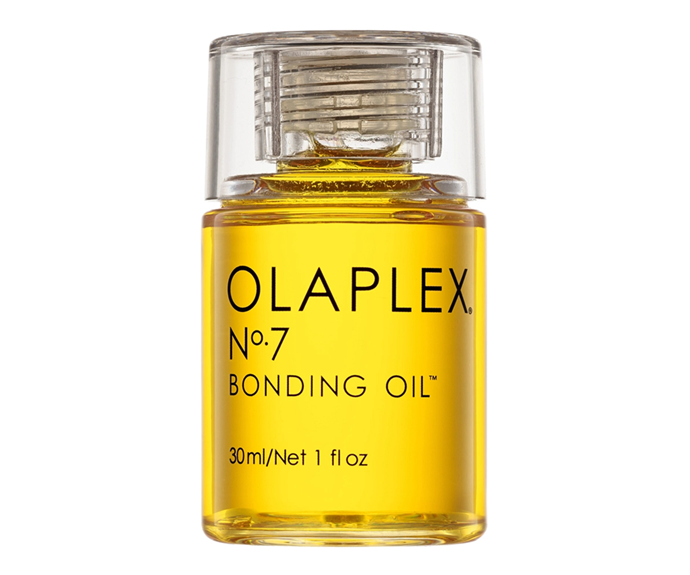 "**No.7 Bonding Oil by Olaplex, $50 at [Sephora](https://www.sephora.com.au/products/olaplex-no-dot-7-bonding-oil/v/30-ml|target=""_blank""