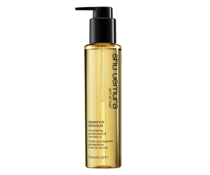 "**Essence Absolue Nourishing Protective Oil by Shu Uemura Art of Hair, $68 at [MECCA](https://www.mecca.com.au/shu-uemura-art-of-hair/essence-absolue-nourishing-protective-oil/I-041734.html|target=""_blank""
