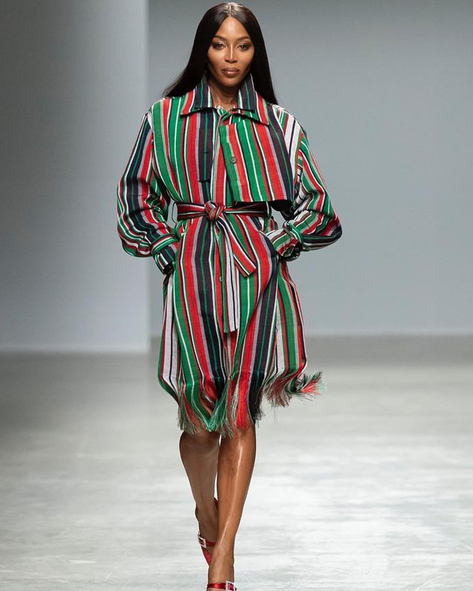 "**Kenneth Ize** <br><br> Austrian-Nigerian designer Kenneth Ize caused a frenzy when supermodel Naomi Campbell closed his debut [Paris Fashion Week](https://www.harpersbazaar.com.au/fashion/paris-fashion-week-autumn-2020-runway-19997|target=""_blank"") show last season—and thankfully, Campbell's endorsement introduced a whole new audience to one of fashion's most exciting up-and-comers. As a finalist for fashion's coveted LVMH Prize ([Simon Porte Jacquemus](https://www.harpersbazaar.com.au/fashion/jacquemus-scott-disick-19158