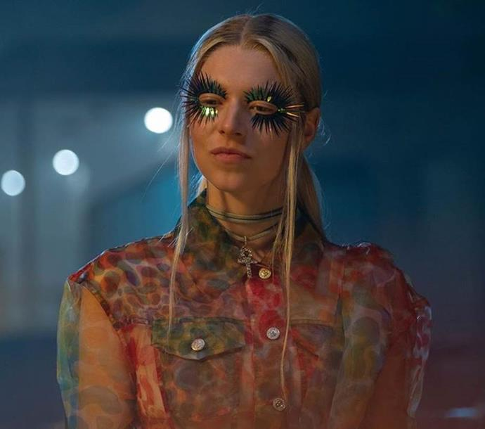 ***Euphoria***<br><br>  In the case of [*Euphoria*](https://www.elle.com.au/beauty/euphoria-makeup-21077), beauty is fashion, and makeup takes centre stage to create a visually stunning drama unlike any other that came before it. Whether it be the over-zealous appreciation of glitter eye shadow or creative use of rhinestones and other dazzling embellishments, each character's distinct aesthetic speaks to deeper elements of their life, psyche and past traumas.