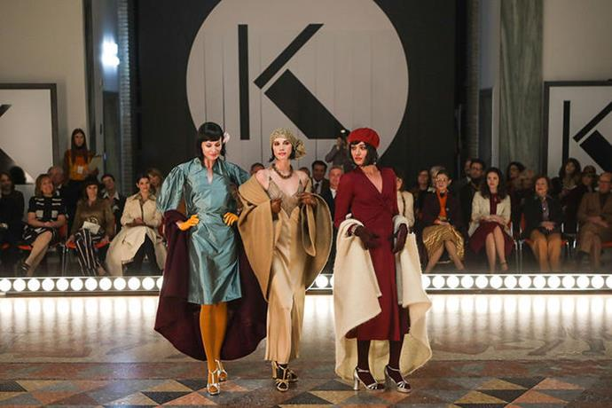 """***Made In Italy***<br><br>  Dubbed a """"love letter to the masters of Italian fashion"""", *Made In Italy* puts incredible style front and centre. Set against the backdrop of 1970s Milan, the show pays true homage to some of the country's greatest designers—such as Valentino, Giorgio Armani and Missoni—by only using real vintage pieces from the designers' atelier archives (some of which have never been seen on TV before). A sight to behold."""