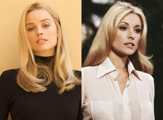 """**Margot Robbie as Sharon Tate in** ***Once Upon a Time in Hollywood*** **(2019)**<br><br>  Not only did Margot Robbie play the late ['60s actress](https://www.harpersbazaar.com.au/fashion/sharon-tate-fashion-18331