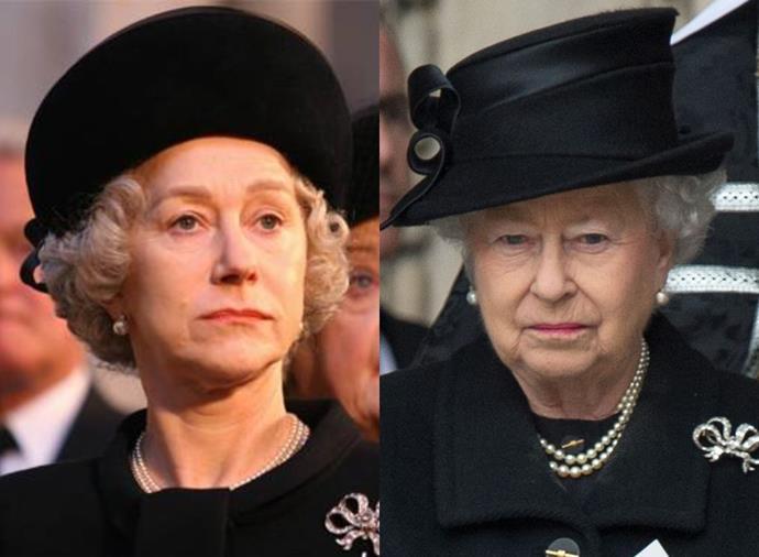 **Helen Mirren as Queen Elizabeth II in** ***The Queen*** **(2006)**<br><br>  Helen Mirren is well-versed in playing royalty, having portrayed both Queen Elizabeth I and Queen Elizabeth II in her career. The latter performance, which she did in 2006's *The Queen*, earned her her first Oscar for Best Actress.