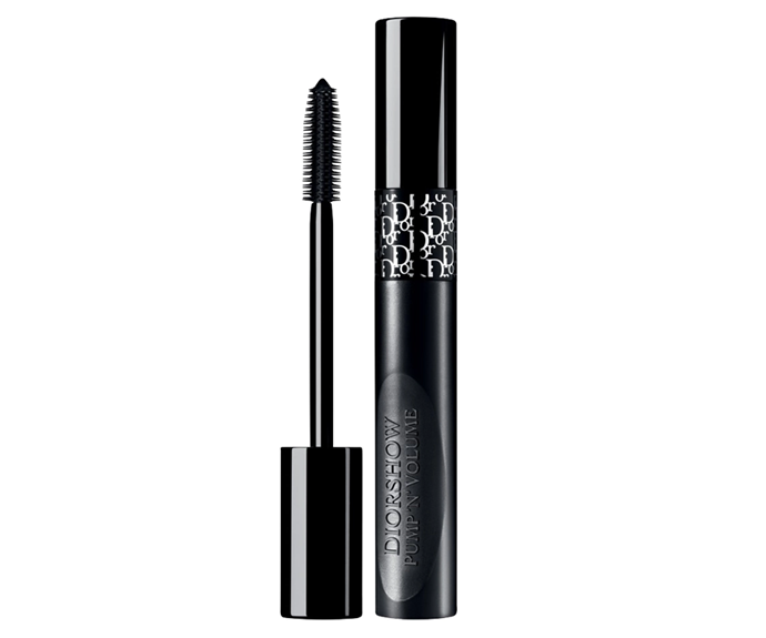 """**Diorshow Pump 'N' Volume Mascara by Dior, $56 at [Sephora](https://www.sephora.com.au/products/dior-diorshow-pump-n-volume-hd-squeezable-mascara/v/090-black