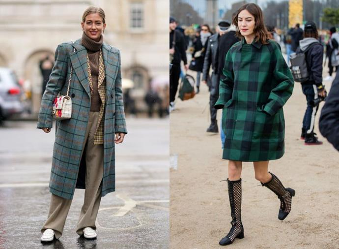 "**Check Mate**<br><br>  Seen on editors and influencers alike throughout [fashion month](https://www.harpersbazaar.com.au/fashion/fashion-week-autumn-winter-2020-front-rows-19992|target=""_blank""), checks and tartan are having a resurgence. Whether you aim for understated or big and bold, it's a trend that will stand the test of time."