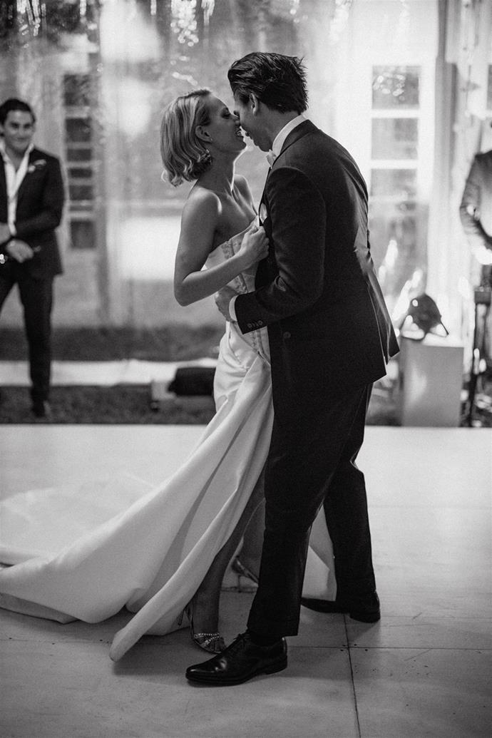 """**On their first dance song:** It was """"Sway"""" by Bic Runga."""