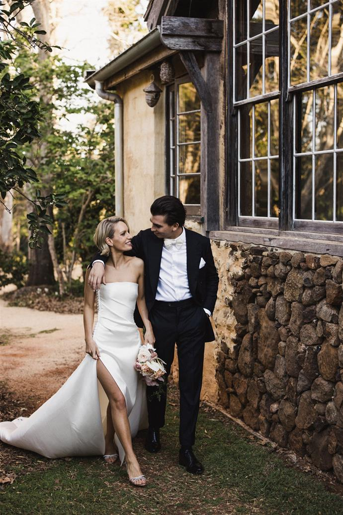 **On her advice for future brides:** Don't get caught up in the finer details on the day and just try to be present. No amount of stress will ever change an outcome so you may as well have fun and enjoy it. Everything will work out how its supposed to in the end.