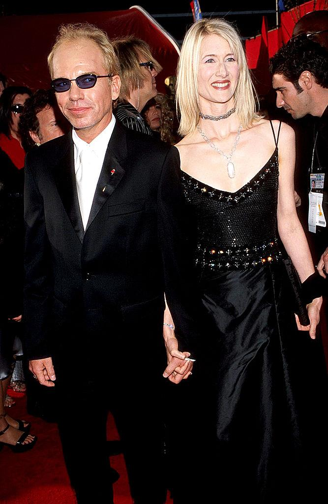 """**Billy Bob Thornton, Laura Dern and Angelina Jolie**<br><br>  Before her affair with Brad Pitt, Angelina Jolie was involved in [celebrity love triangle](https://www.elle.com.au/celebrity/celebrity-love-triangles-23130 target=""""_blank"""") of sorts with *Big Little Lies* star Laura Dern and actor Billy Bob Thornton (who Jolie later married). Dern and Thornton had been together for around two years in the late '90s when things between them ended rather abruptly, with Thornton reportedly leaving Dern to marry Jolie before properly ending things with the *Marriage Story * actress.<br><br>  In a 2000 [interview](https://abcnews.go.com/amp/Entertainment/story?id=115669&page=1 target=""""_blank"""" rel=""""nofollow"""") with the now-defunct *Talk* magazine, Dern explained that Thornton left her while she was away for work.<br><br>  """"I left our home to work on a movie, and while I was away, my boyfriend got married, and I've never heard from him again. It's like a sudden death. For no one has there been any closure or clarity,"""" she said."""