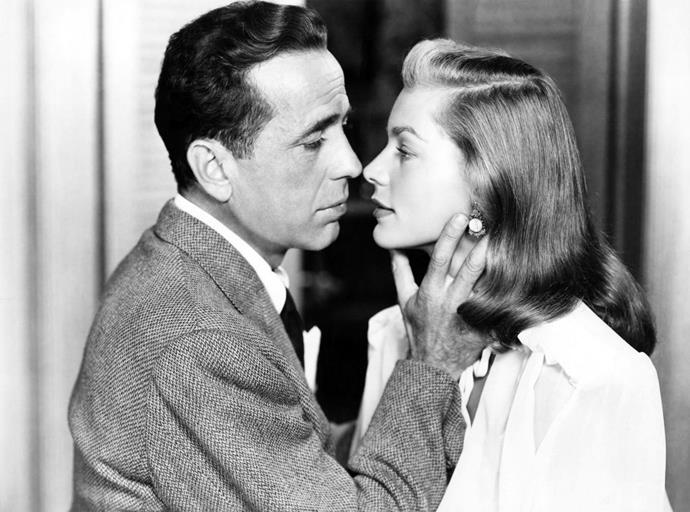 """**Humphrey Bogart and Lauren Bacall**<br><br>  Humphrey Bogart met Lauren Bacall while filming *To Have and Have Not* in the 1944. He was 44 and married at the time, and she was just 19. Despite their 25-year [age gap](https://www.harpersbazaar.com.au/celebrity/celebrity-couples-age-differences-20305 target=""""_blank""""), a romance began between them.<br><br>  When their director Howard Hawks (who reportedly also fancied Bacall) caught wind of their relationship, he reportedly tried to put an end to their liaison by telling the actress that Bogart would dump her by the end of filming, and allegedly even threatened to destroy her career, bluffing that he would send her to the """"lowest"""" studios in Hollywood. Despite Hawks' meddling, Bogart and Bacall's relationship continued, and the pair wed in 1945. They went on to have two children together, and remained married until Bogart passed away in 1957."""
