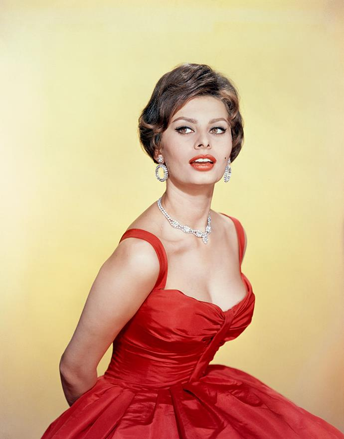 """**Sophia Loren's real name is Sofia Villani Scicolone**<br><br>  [Sophia Loren's](https://www.harpersbazaar.com.au/fashion/sophia-loren-summer-style-17366