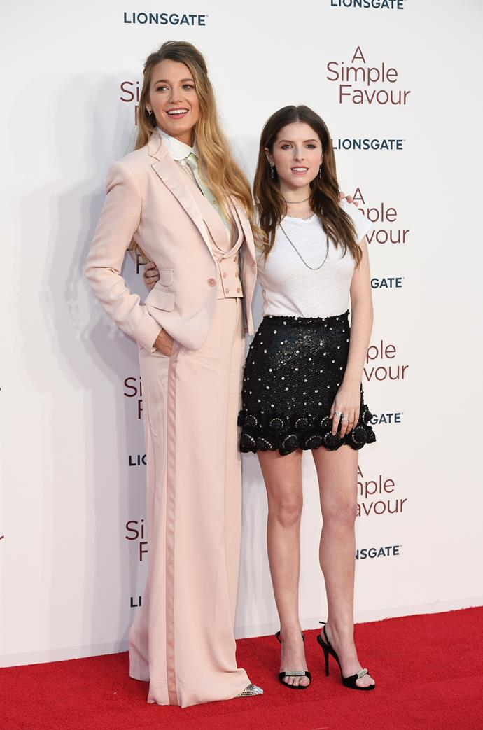 """**Anna Kendrick** (right) is 157cm, or 5""""2', tall."""