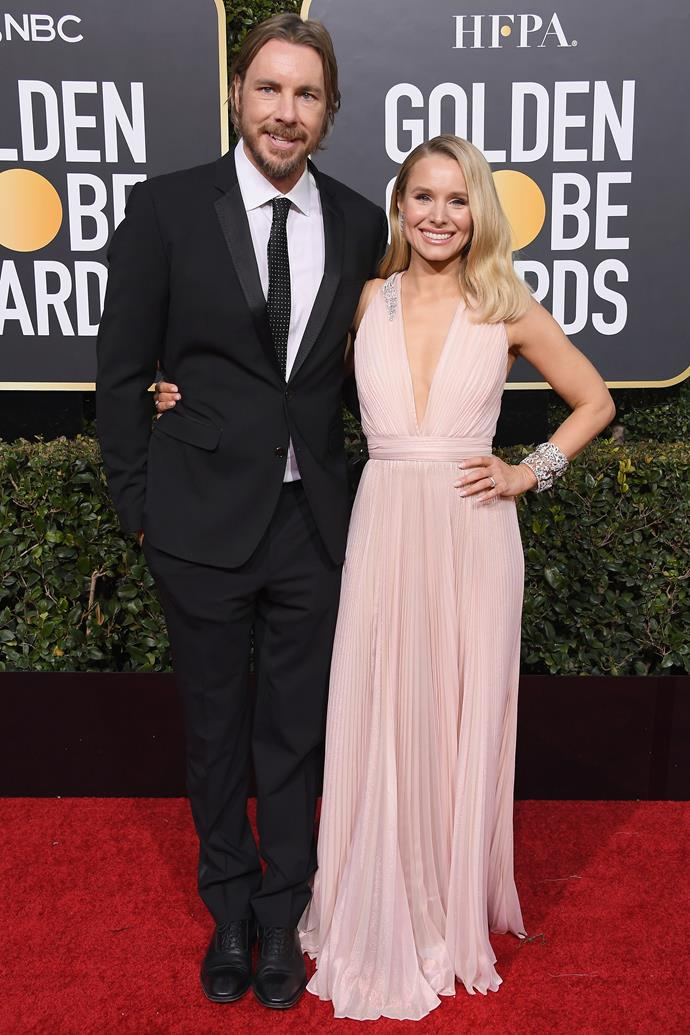 """**Kristen Bell** (right) is 155cm, or 5""""1', tall."""