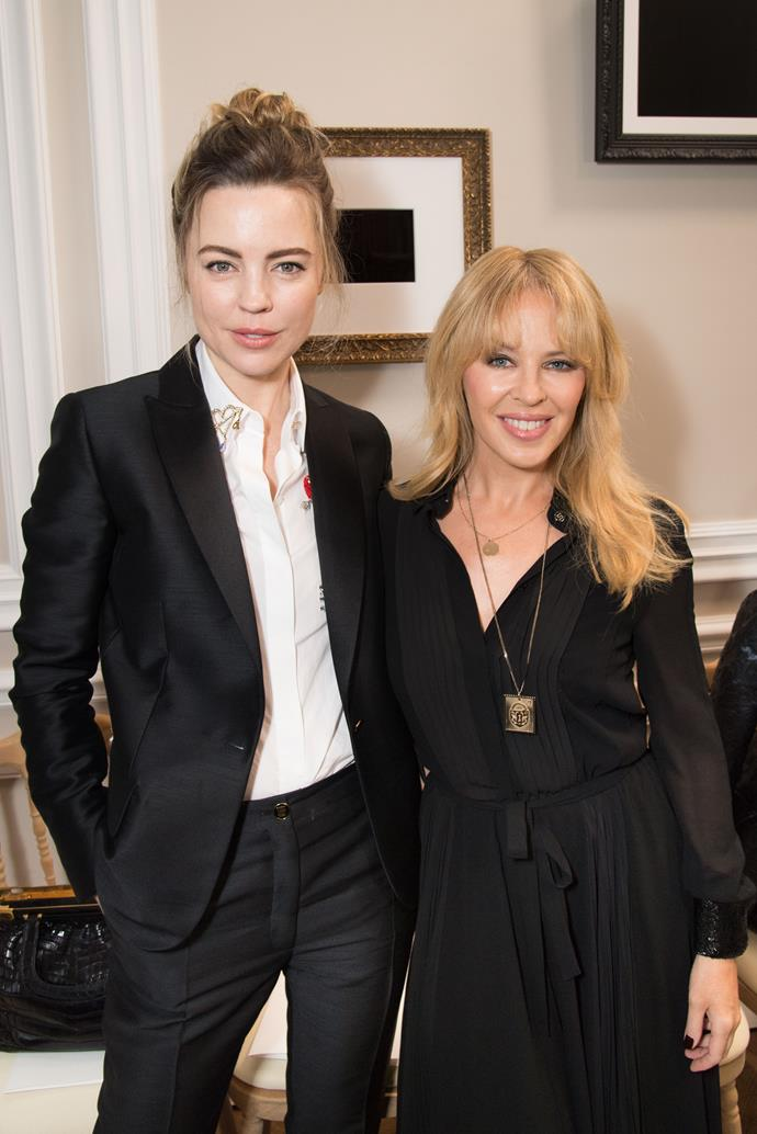 """**Kylie Minogue** (right) is 152cm, or 5""""0', tall."""