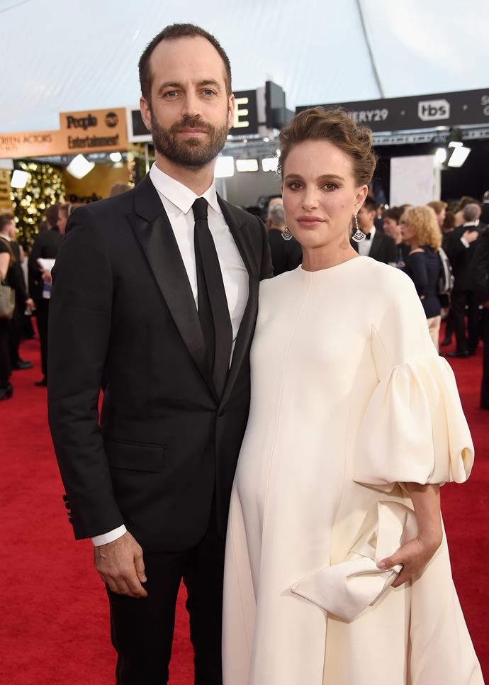 """**Natalie Portman** (right) is 160cm, or 5""""3', tall."""