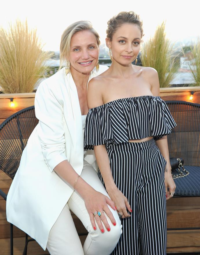 """**Nicole Richie** (right) is 155cm, or 5""""1', tall."""
