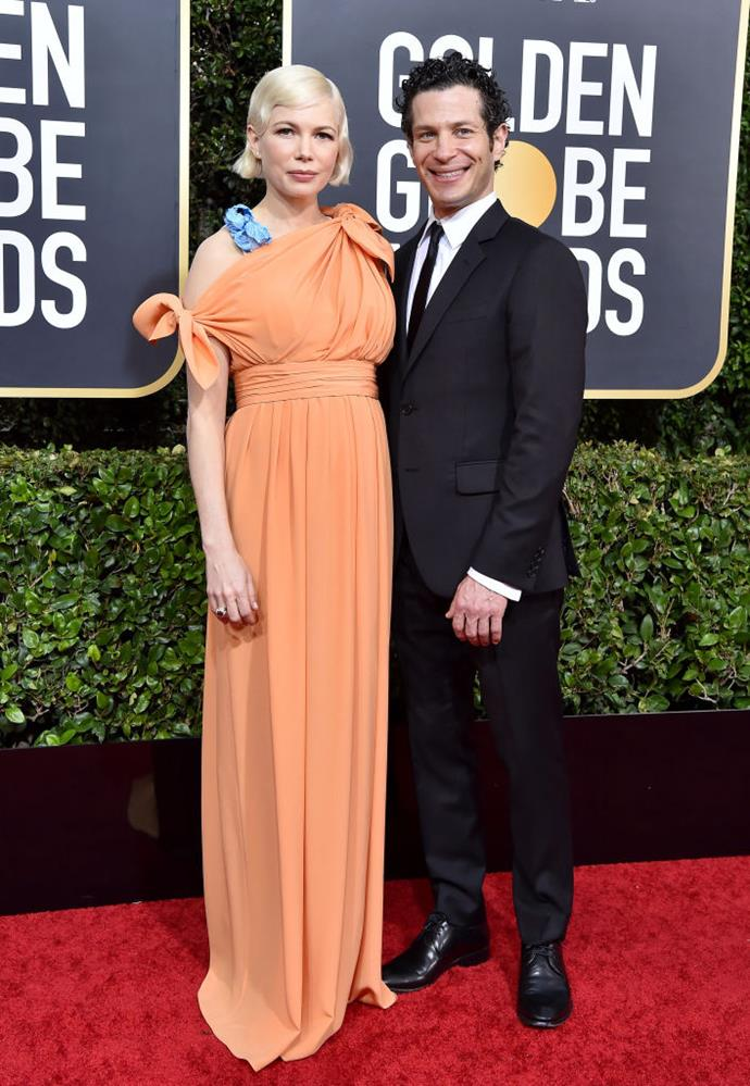 Williams and Kail at the 2020 Golden Globe Awards.