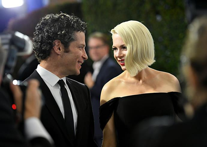 Kail and Williams at the SAG Awards in January 2020.