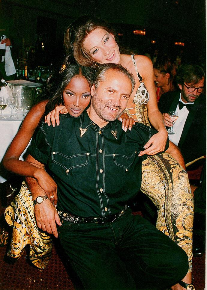 "**Gianni Versace** <br><br> In a time where it wasn't uncommon for European and American designers to cast exclusively-white models, Gianni Versace helped launch the careers of many successful BIPOC models, including [Naomi Campbell](https://www.harpersbazaar.com.au/fashion/naomi-campbell-youtube-channel-best-moments-20148|target=""_blank"") and Canadian-Pakistani retired super Yasmeen Ghauri. <br><br> At the time, there was less impetus placed on designers representing diversity in their shows, but Versace was one of the first European labels to make a point of not just showing white models—and while normal by today's standards, it was definitely a start."