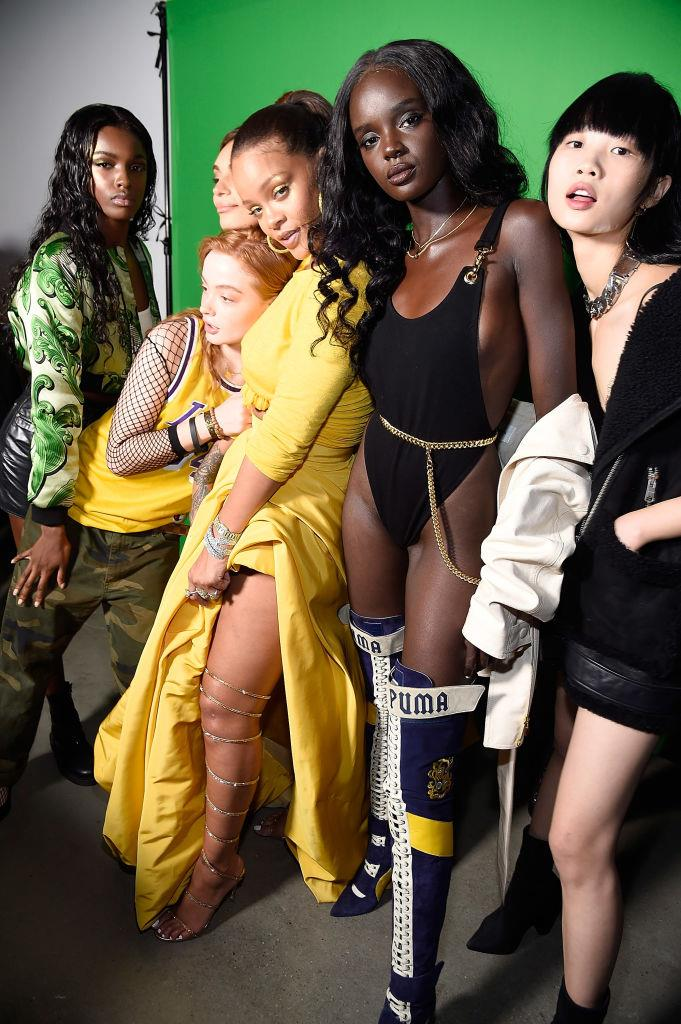 "**Rihanna** <br><br> With the launches of her three 'Fenty' brands (fashion brand [Fenty Maison](https://www.harpersbazaar.com.au/fashion/rihanna-fenty-lvmh-18640|target=""_blank""), lingerie brand Savage x Fenty and cosmetics company [Fenty Beauty](https://www.harpersbazaar.com.au/beauty/fenty-new-mascara-19774