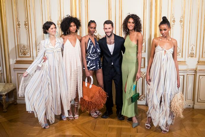 "**Simon Porte Jacquemus** <br><br> With his label's garments incorporating a distinct Southern French vibe, Simon Porte Jacquemus' brand makes sure to spotlight the undeniable multiculturalism of 21st century France. In an [interview](https://www.vogue.com/fashion-shows/fall-2019-menswear/jacquemus|target=""_blank""