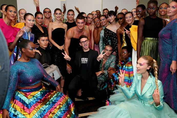 "**Christian Siriano** <br><br> *Project Runway* alum Christian Siriano has become respected for strongly championing diversity at his NYFW shows. Off the runway, Siriano has also been acclaimed for his muses, and famously dressed actress and comedian Leslie Jones after she admitted no designers offered to dress her for the *Ghostbusters* premiere in 2016. In a 2018 interview with *[Refinery29](https://www.refinery29.com/en-us/2018/09/209351/christian-siriano-diversity-spring-fashion-week-2019-runway|target=""_blank""