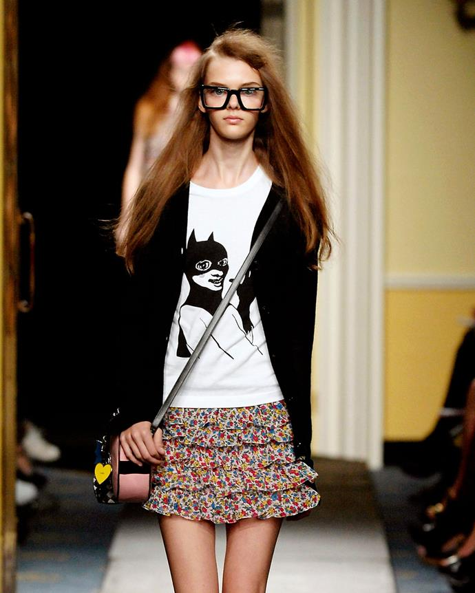 ***2000: Luella's 'Daddy I Want A Pony' T-shirt***<br><Br> Pictured: A similar t-shirt at Luella spring/summer 2007.