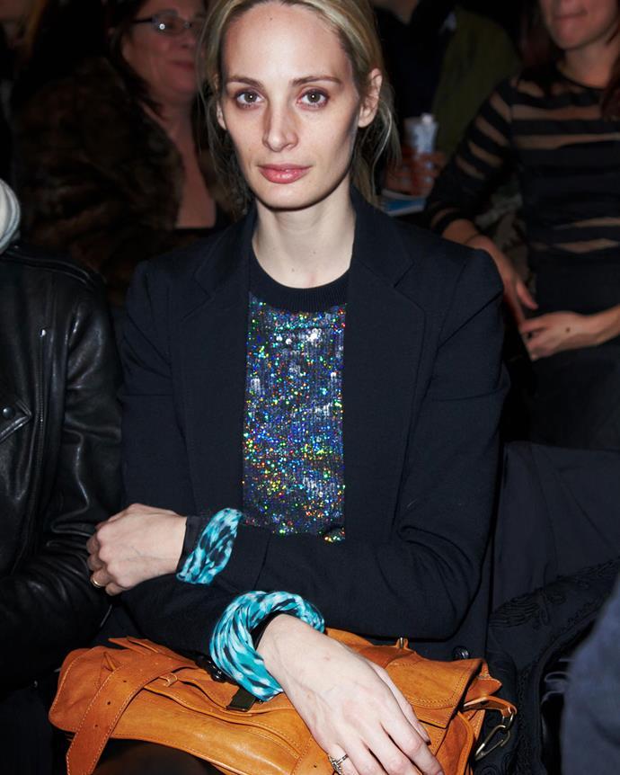 ***2009: Proenza Schouler's PS1 bag***<br><br> Pictured: Lauren Santo Domingo with the PS1 in 2010.