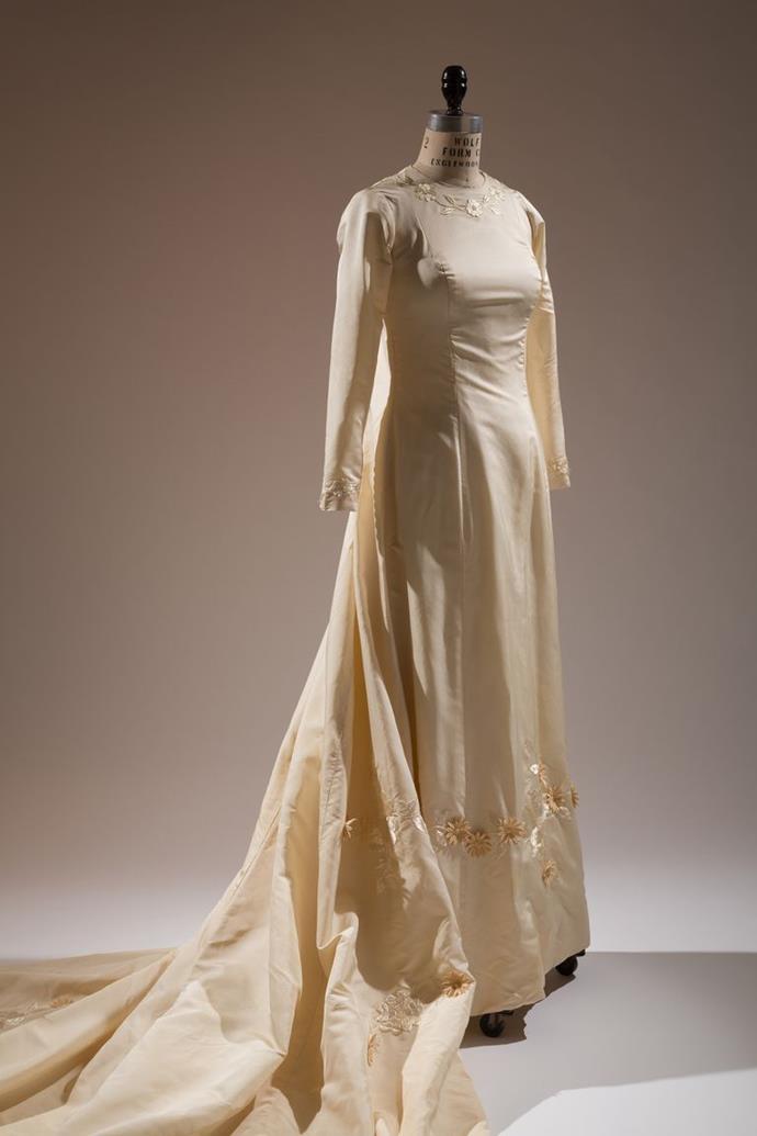 Ann Lowe wedding dress, 1968.