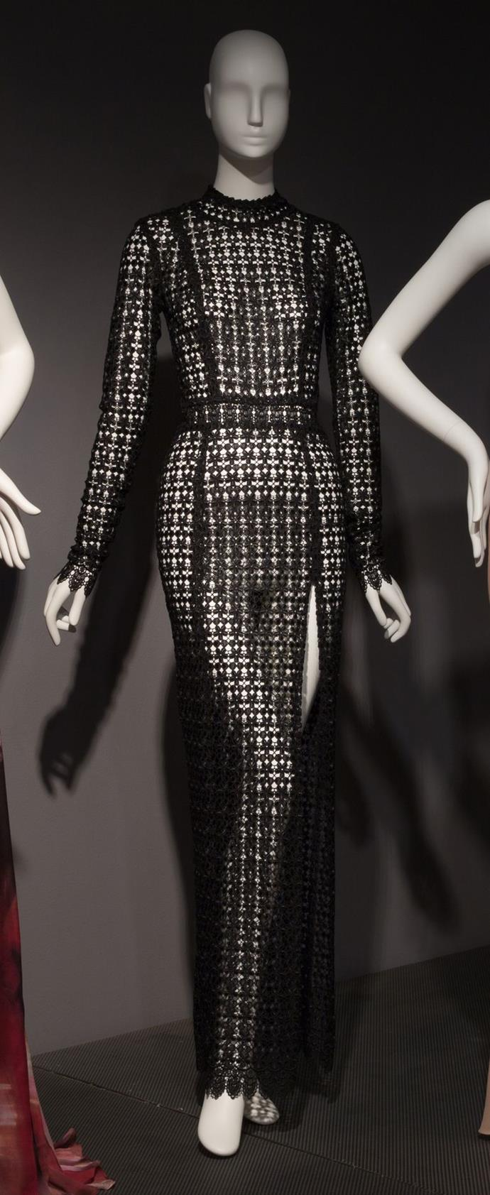 LaQuan Smith dress, fall 2016