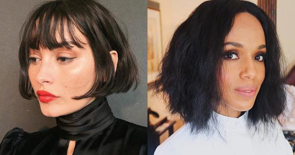 The 6 Bob Hairstyles That Are Trending For Winter 2020