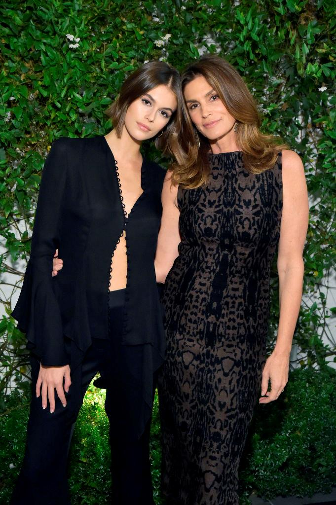 Kaia Gerber and Cindy Crawford. <br><br>
