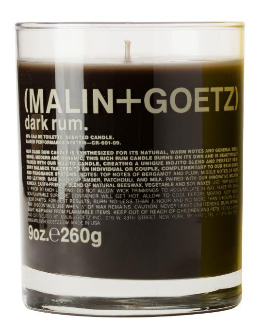 "Dark Rum Candle, $88 by Malin + Goetz at [MECCA](https://www.mecca.com.au/malin-goetz/dark-rum-candle/I-002149.html|target=""_blank""