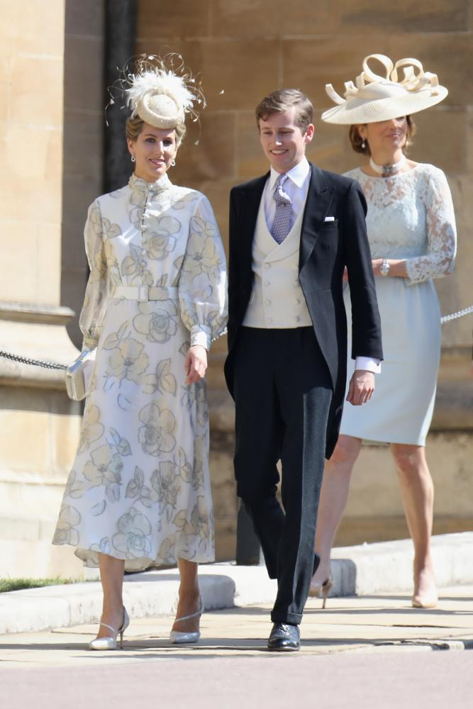 Unnamed guests attending the wedding of Prince Harry and Meghan Markle in 2018.
