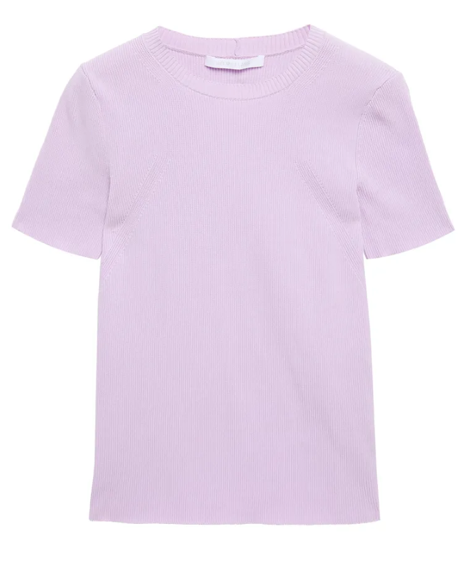 """Zip-detailed Ribbed-knit T-shirt, $166 by Helmut Lang at [The Outnet](https://www.theoutnet.com/en-au/shop/product/helmut-lang/tops/short-sleeved-top/zip-detailed-ribbed-knit-t-shirt/24092600057135377