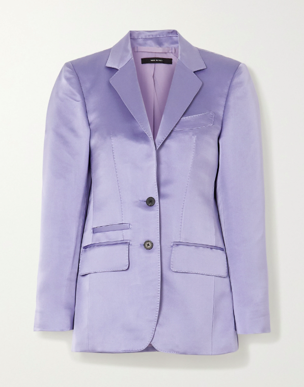 "Silk-satin Blazer, $6,408 by Tom Ford at [Net-A-Porter](https://www.net-a-porter.com/en-au/shop/product/tom-ford/silk-satin-blazer/1237309|target=""_blank""|rel=""nofollow"")."