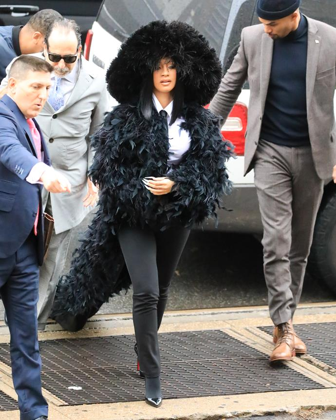 Cardi B has always been bold with her fashion choices, but her successive court appearances for assault charges in 2019 cemented her place as a true fashion icon.