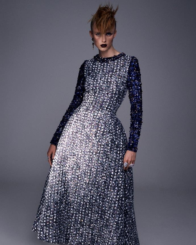 Chanel haute couture 2020, photographed by Mikael Jansson.
