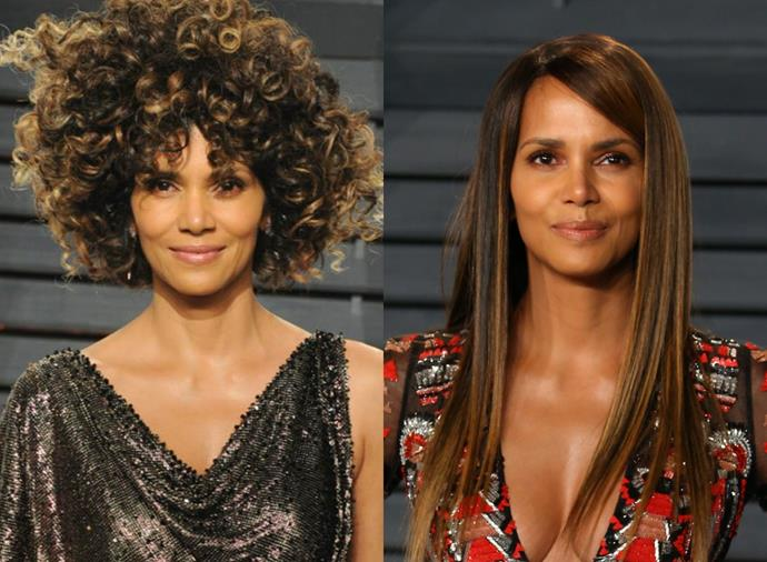 **Halle Berry**<br><br>  If we could give Halle Berry's hair an Oscar, we definitely would.